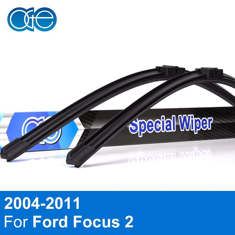Oge Wiper Blade For Ford Focus 2 2004 2005 2006 2007 2008 2009 2010 2011 High Quality Natural Rubber Car Accessories Yest Ford Focus Ford Focus 2 Wiper Blades