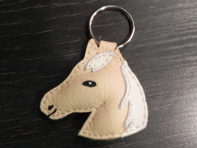 Schlüsselanhänger Tasche Leder Zappelsid Charm Auf Pferd Von qUMLzGSVp