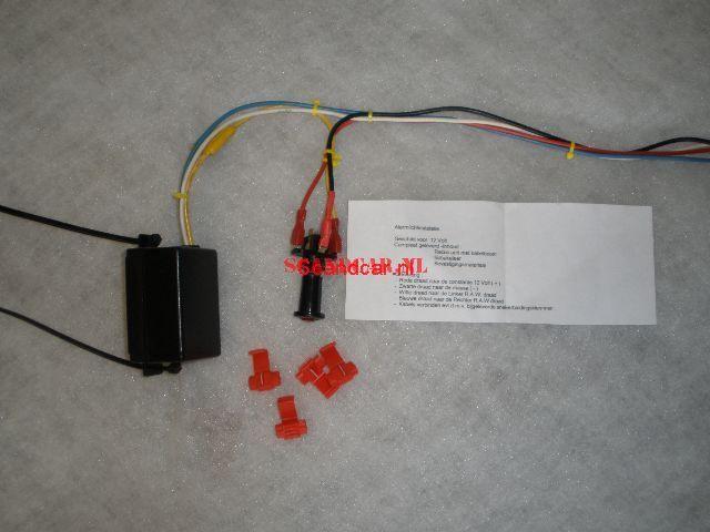 Alarmlicht installatie compleet ( set ) 12V.