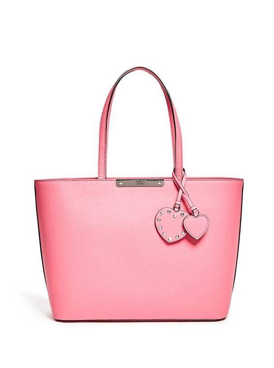 Britta Tote at Guess!  #Fashion #Bag #Backpack #Sale #Shop #Pink #ToteBag