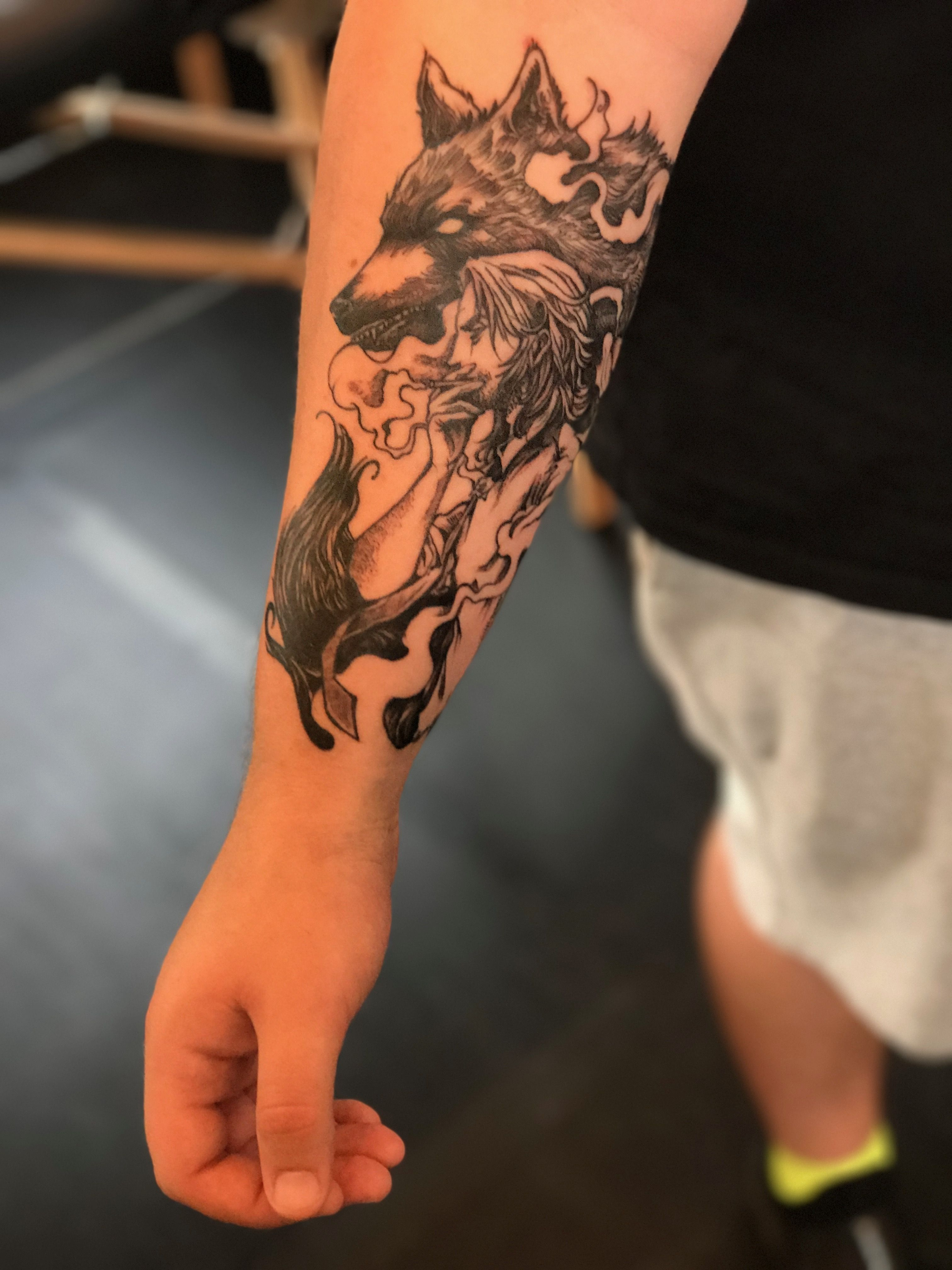 83be2e661 My Bigby Wolf/Fables/The Wolf Among Us tattoo with amazing details ...