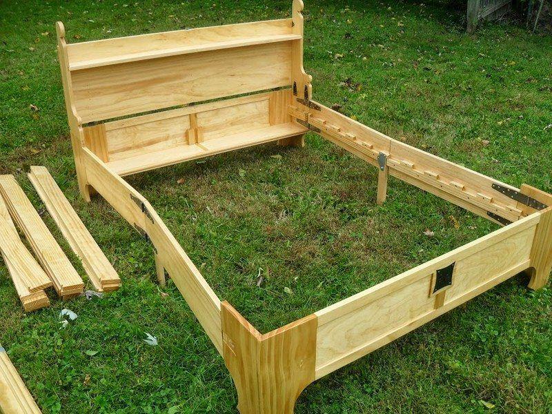 Bed in a Box   Wood projects   Pinterest   Cofre, Ahorrar espacio y ...