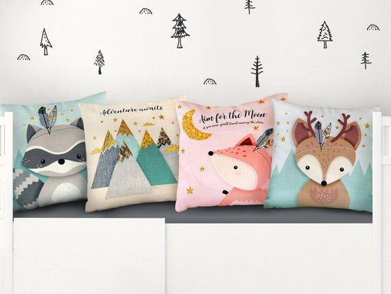 Nursery Throw Pillows Babies Gift