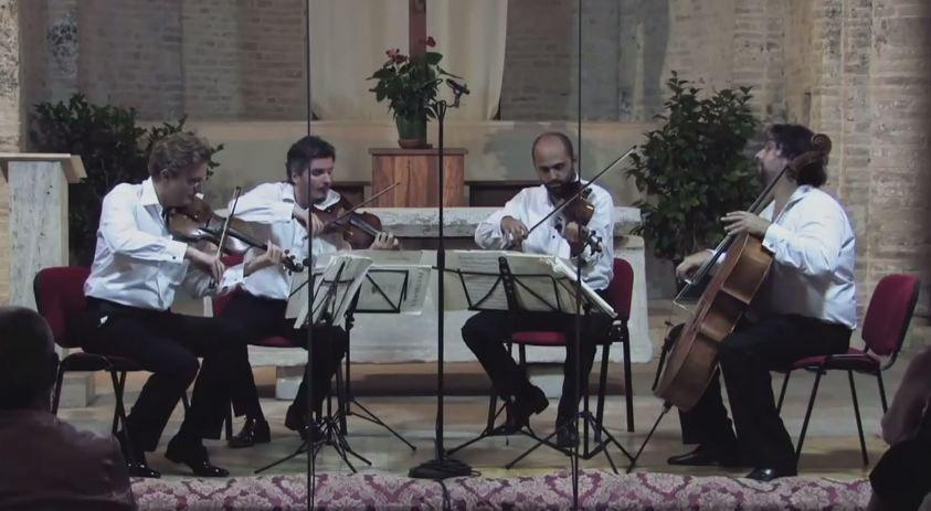 Ludwig van Beethoven: String Quartets Op.18 No.6 in B flat major | No.11 in F minor, Op.95 | No.16 in F major, Op.135 – Quartetto di Cremona – Quartetto di Cremona • http://facesofclassicalmusic.blogspot.gr/2015/12/ludwig-van-beethoven-string-quartet_17.html