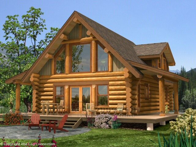 The Log Connection Is One Of The Leading Sources In Log Home Design And Log  Home