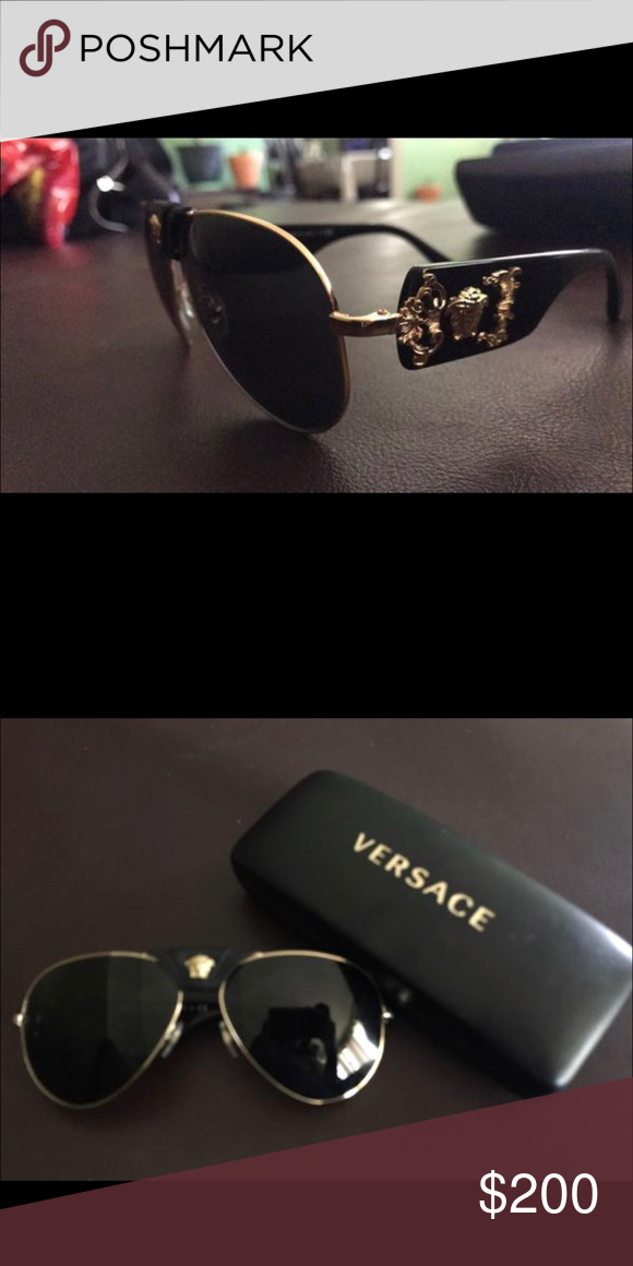 e3432b6334bb Versace sunglasses New never worn no box but comes with sunglasses pouch Versace  Accessories Sunglasses Versace