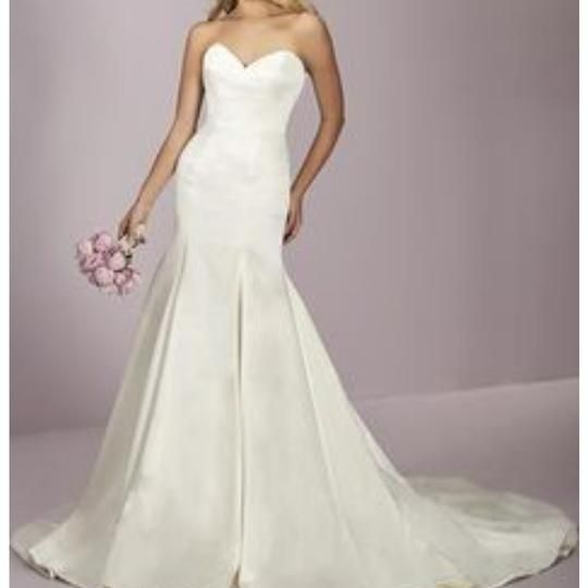 16447e4d6e Ivory Satin 18055 Modern Wedding Dress in 2019 Wedding t