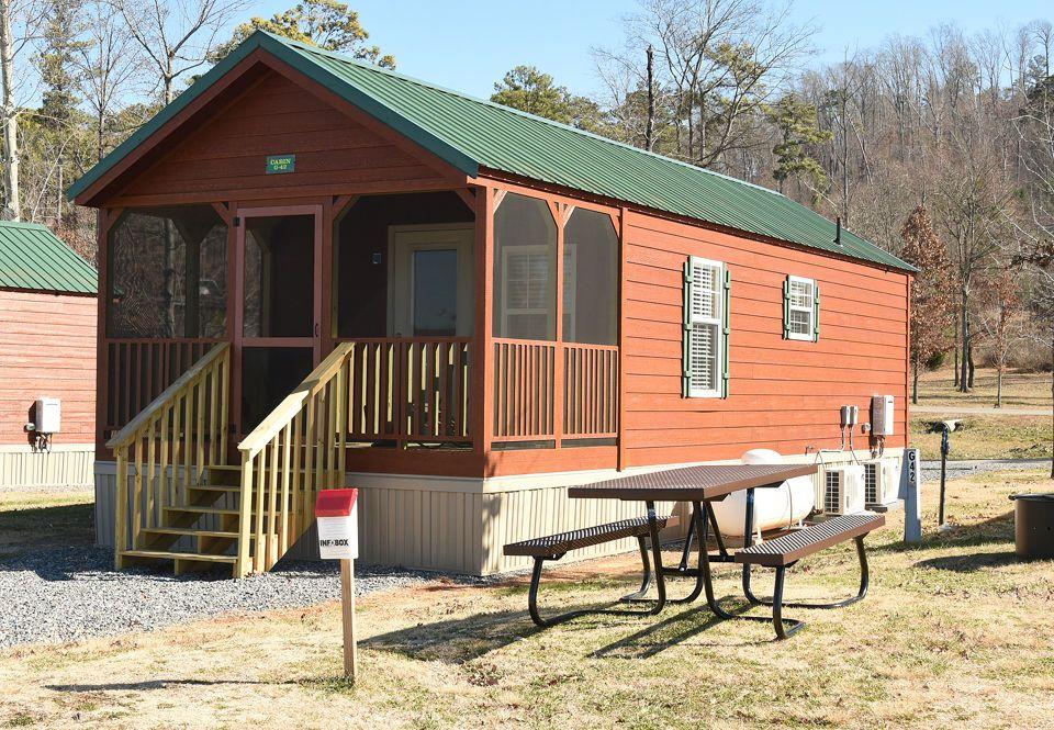 Check Out These Camper Cabins At Beautiful Lake Guntersville State Park Al Com Guntersville State Park State Parks Beautiful Lakes