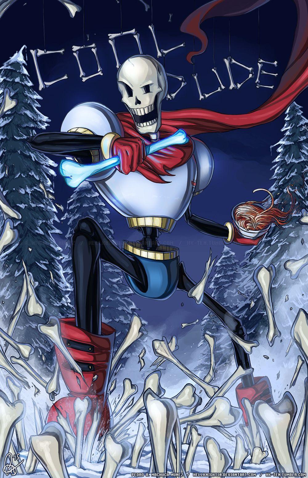 UNDERTALE - Cool Dude Papyrus by Hellknight10.deviantart.com on @DeviantArt