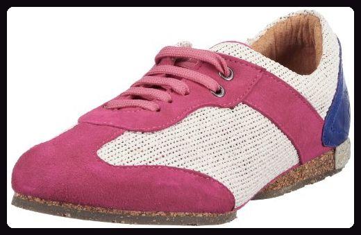 Stork Steps SAMPLE 1796269, Damen Sneaker, Pink (Kid Suede/Nature/Iceberg/Fuxia/Beige/Light Blue 019), EU 37
