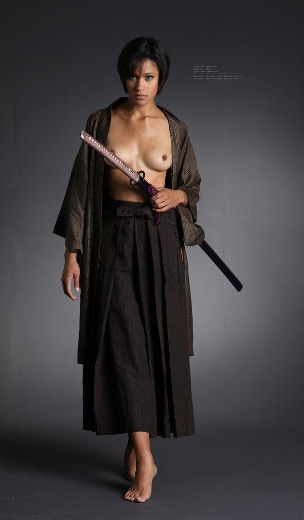 Samurai Schoolgirl - e - 6 by mjranum-stock on DeviantArt
