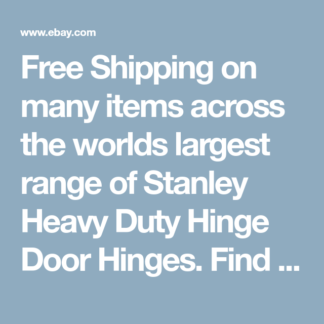 Free Shipping on many items across the worlds largest range