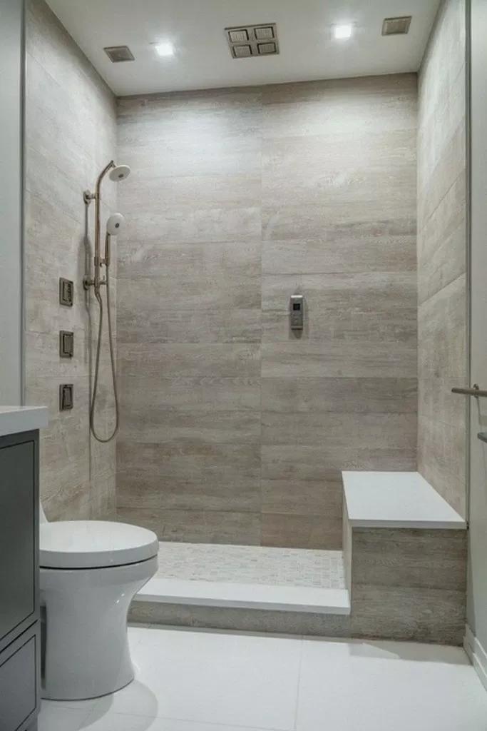 27 Master Bathroom Walk In Shower Design Ideas 00006 Bathroom Remodel Shower Best Bathroom Tiles Small Bathroom