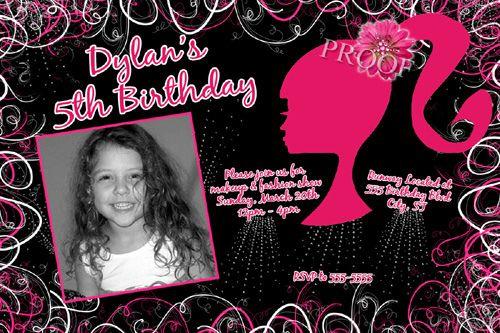birthday party invitations photo