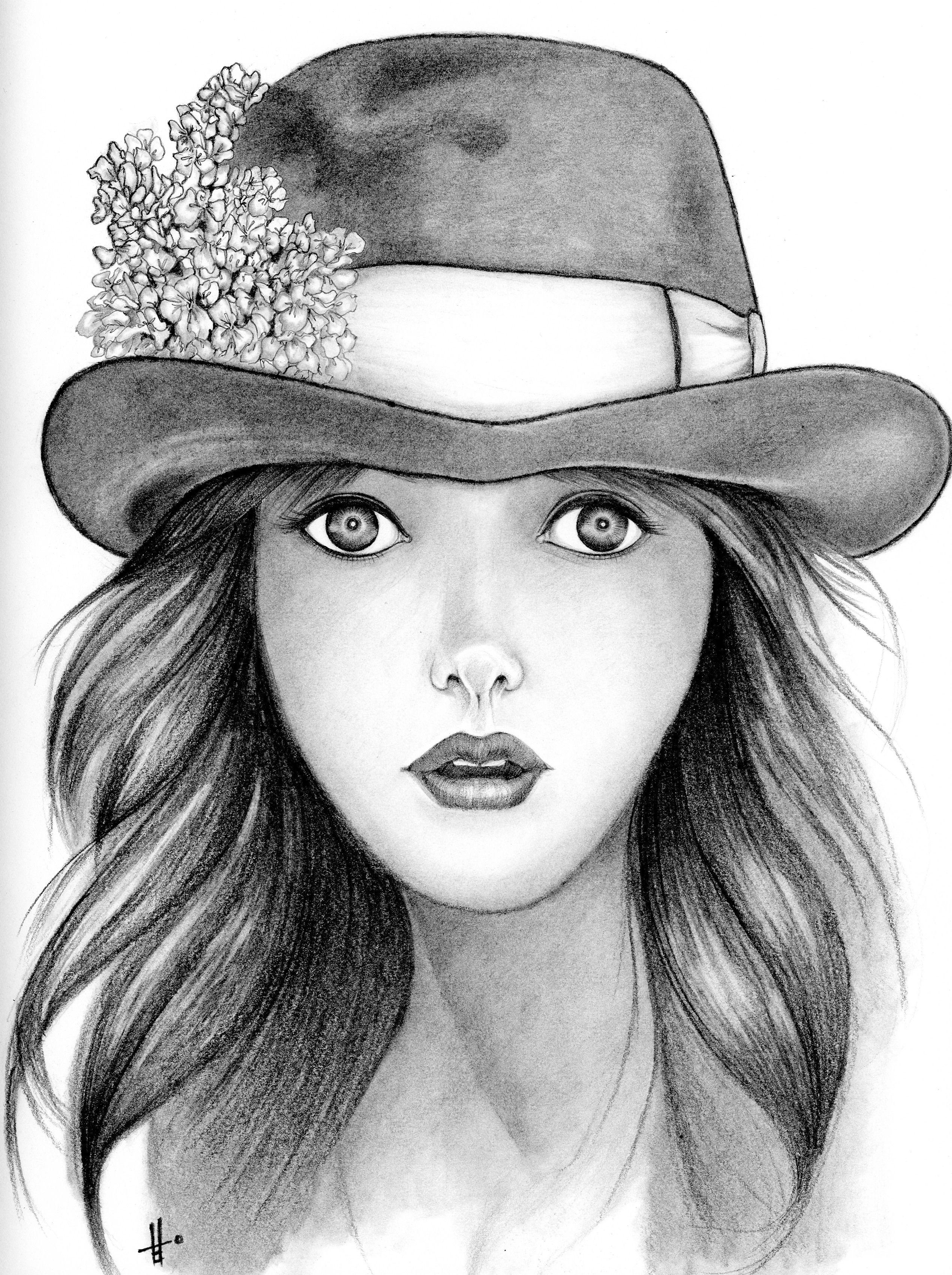 drawings of girls - HD2540×3398