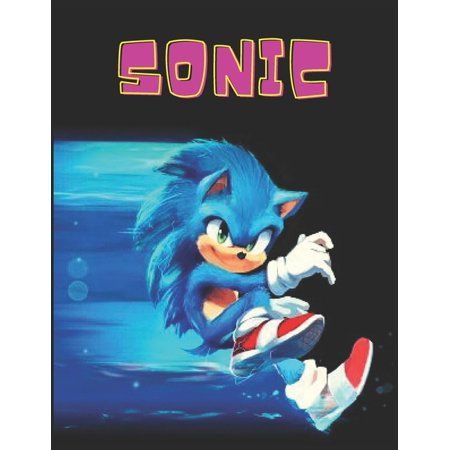 Sonic: Coloring Book for Kids and Adults with Fun, Easy, and Relaxing (Paperback)