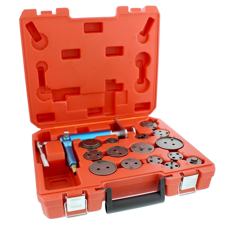 Caliper Piston Compressor Tool 16Piece Pneumatic Brake