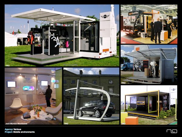 Exhibition Stand Outdoor : Examples of mobile outdoor projects for various agencies
