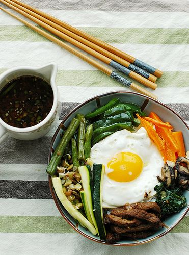 Korean Bulgogi Bibimbap London Style - Корейски бибимбап с ...