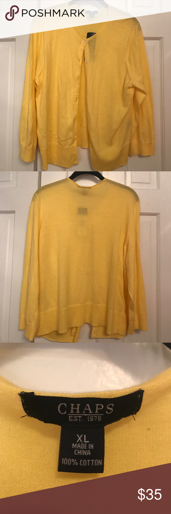 Springy Yellow Cardigan NWT | Sweater cardigan, Cardigans and As