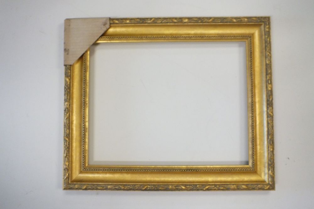 11 x 14 Gold Leaf New Wood Picture Frame Floral Carving Free ...