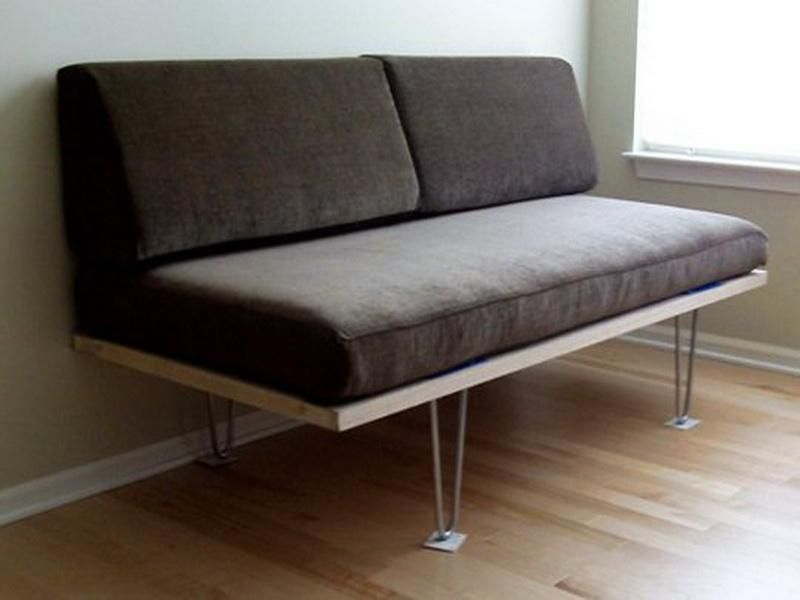 Small Sofa DIY Daybed