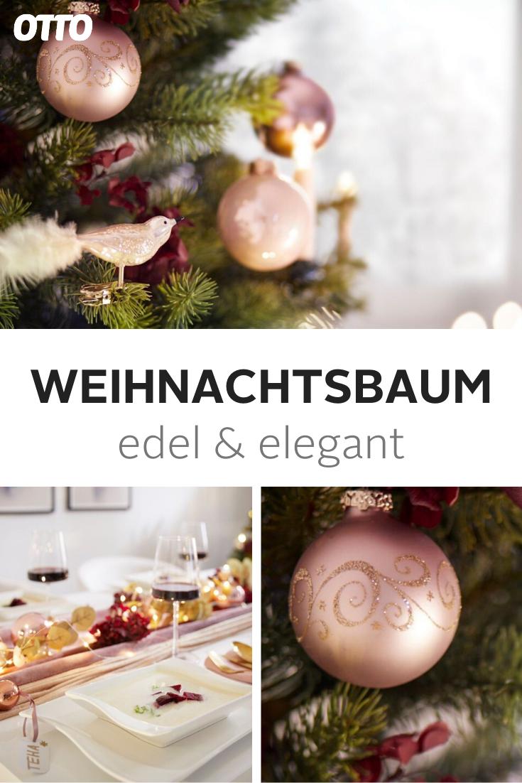 Pin Von Marion Schmidt Auf Weihnachten Deko Weihnachtsbaum Tannenbaum Weiss Weihnachten Dekoration