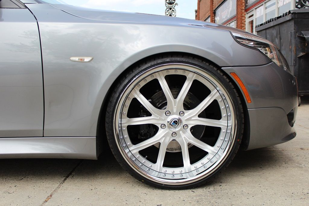 5 Series With Asanti Wheels With Images Bmw 5 Series Bmw Wheel