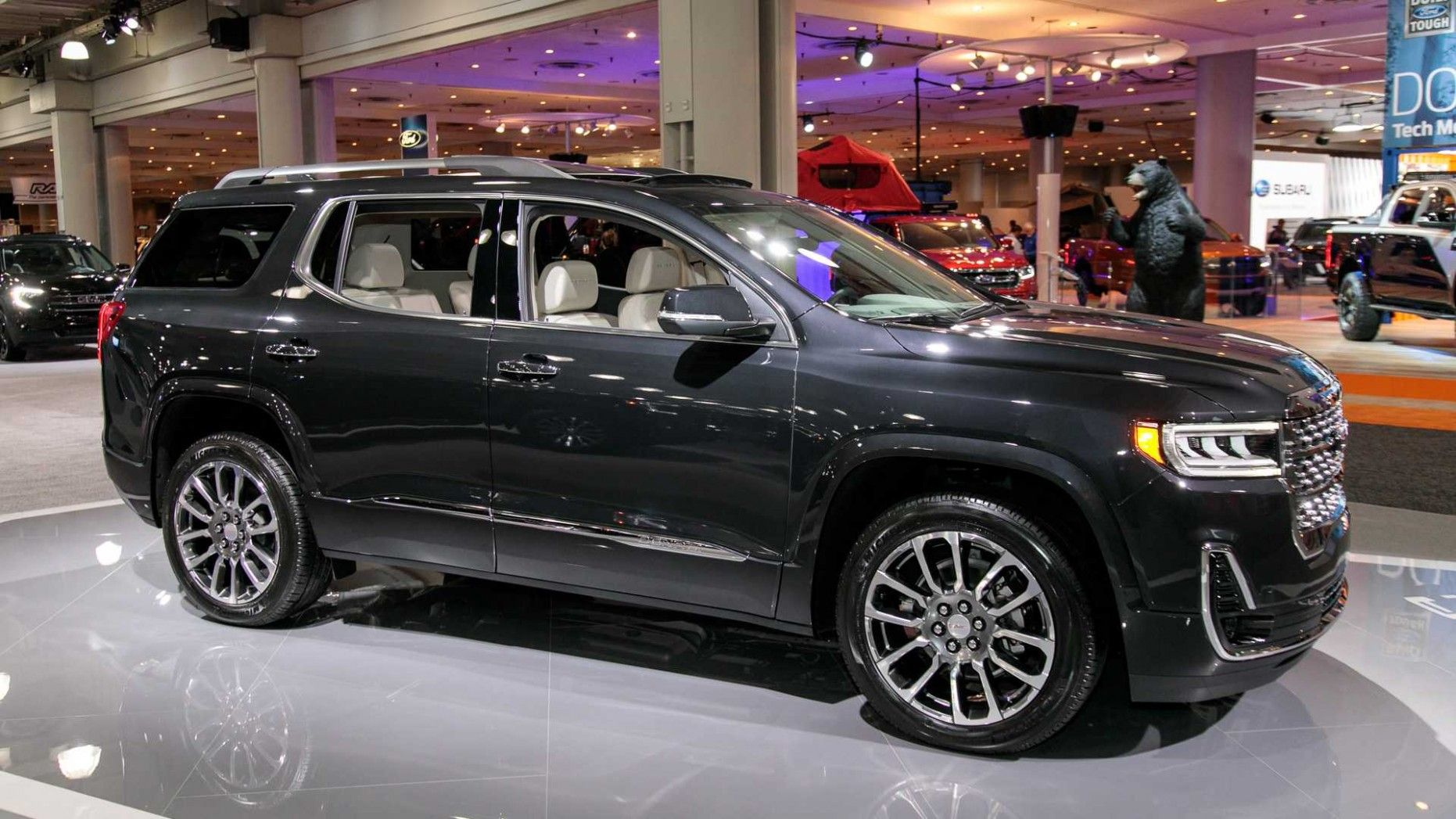 2019 Gmc Acadia Midsize Family Suv With V6 Engine And Active