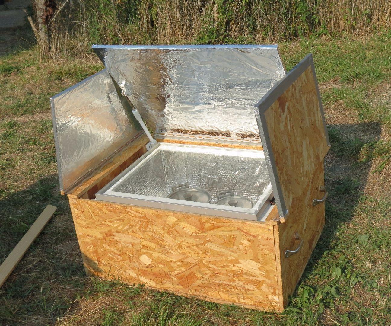 Diy Solar Oven Solar Oven Diy Solar Oven Solar Cooking