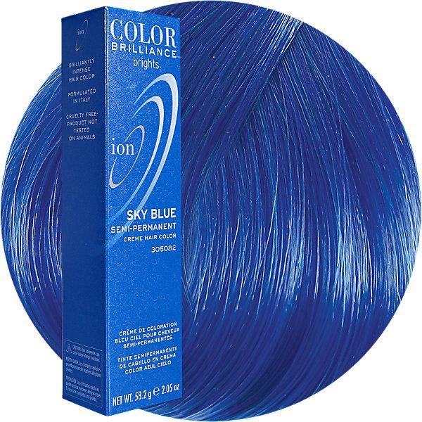 Sky Blue Semi Permanent Hair Color Semi Permanent Hair Color