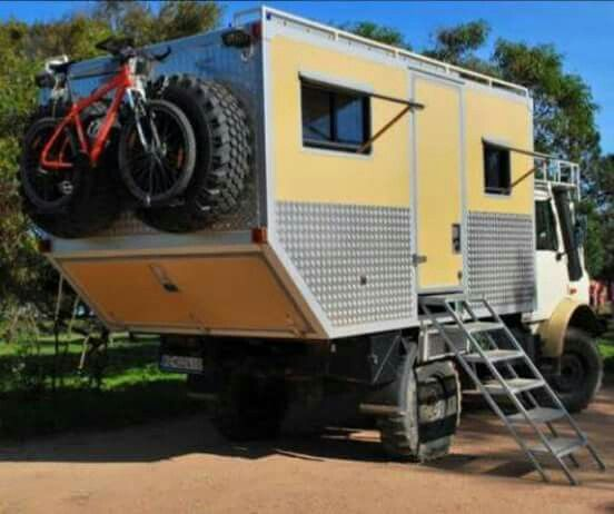 Unimog Camper Rv Expedition Vehicle Mercedes Benz Unimog