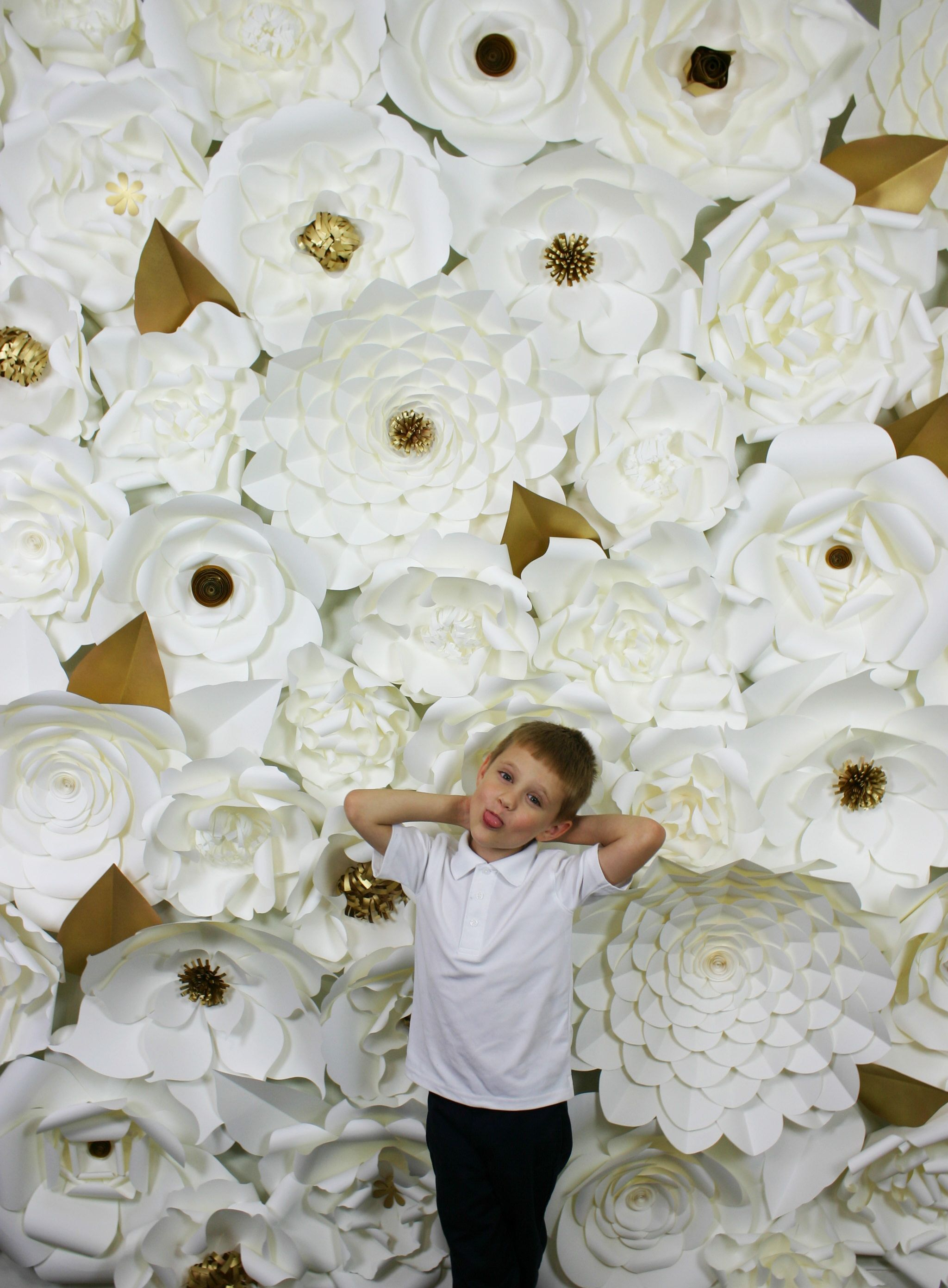 Paper Flower Backdrop Giant Paper Flowers Wall Paper Flower Wall