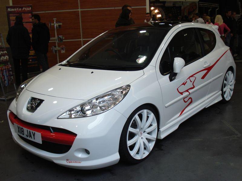 Ecosse Peugeot 207 Gt Tuning Peugeot Car Sticker Design Chevrolet
