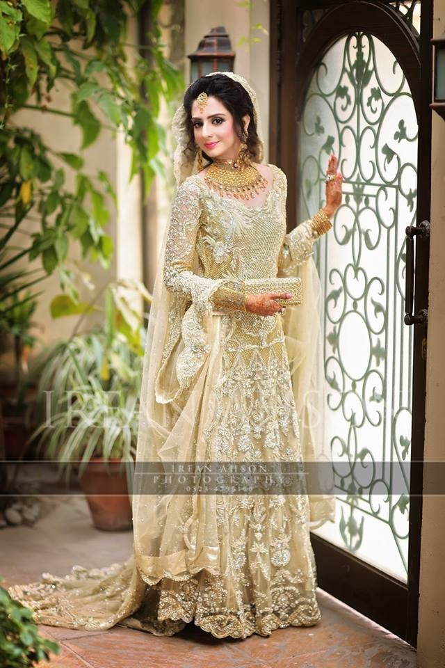 Latest walima dresses designs trends collection 2016 for Current wedding dress trends