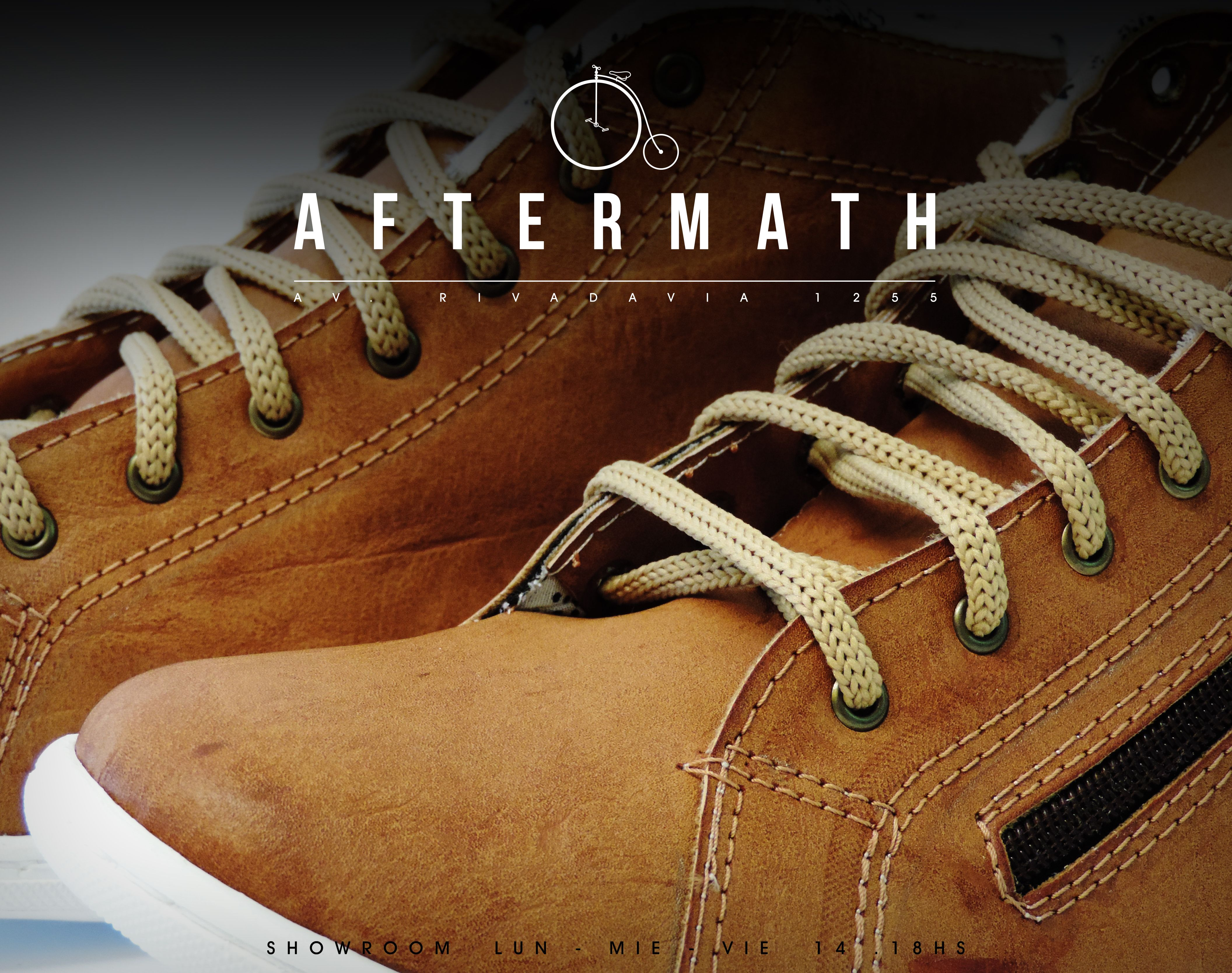 BRAND AFTERMATH SHOES #branding #shoes