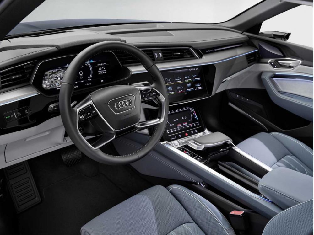 Audi E Tron Sportback In 2020 Audi E Tron E Tron Audi