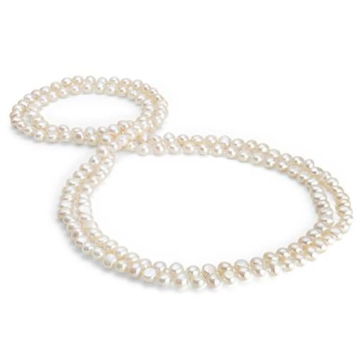 Blue Nile Long Pastel Freshwater Cultured Pearl Necklace (54) F5a20F