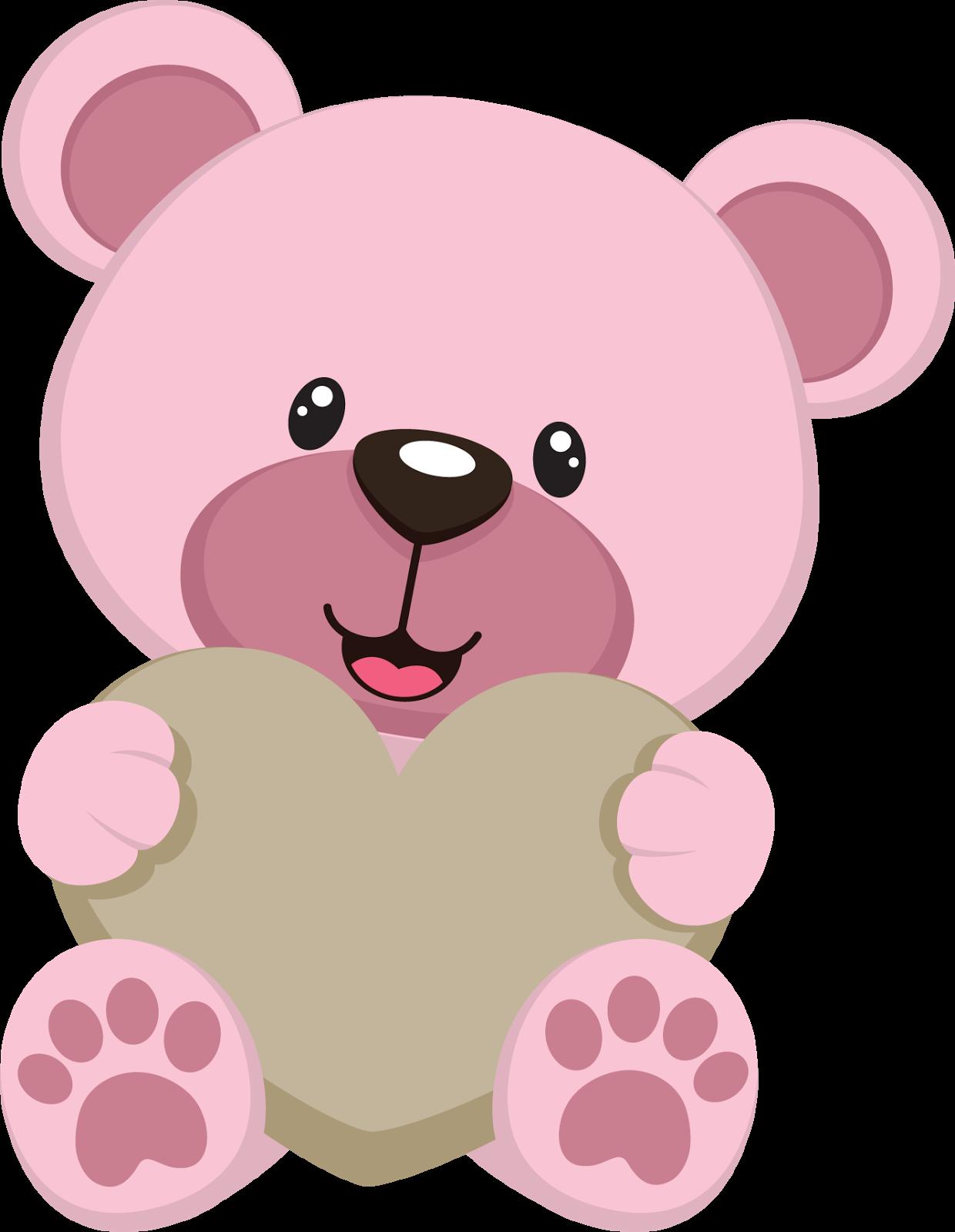 Bebe Ursinho Png ~ Ursinho coraç u00e3o Ursinhos Pinterest Coraç u00e3o, De mae para mae e Moldes de desenhos