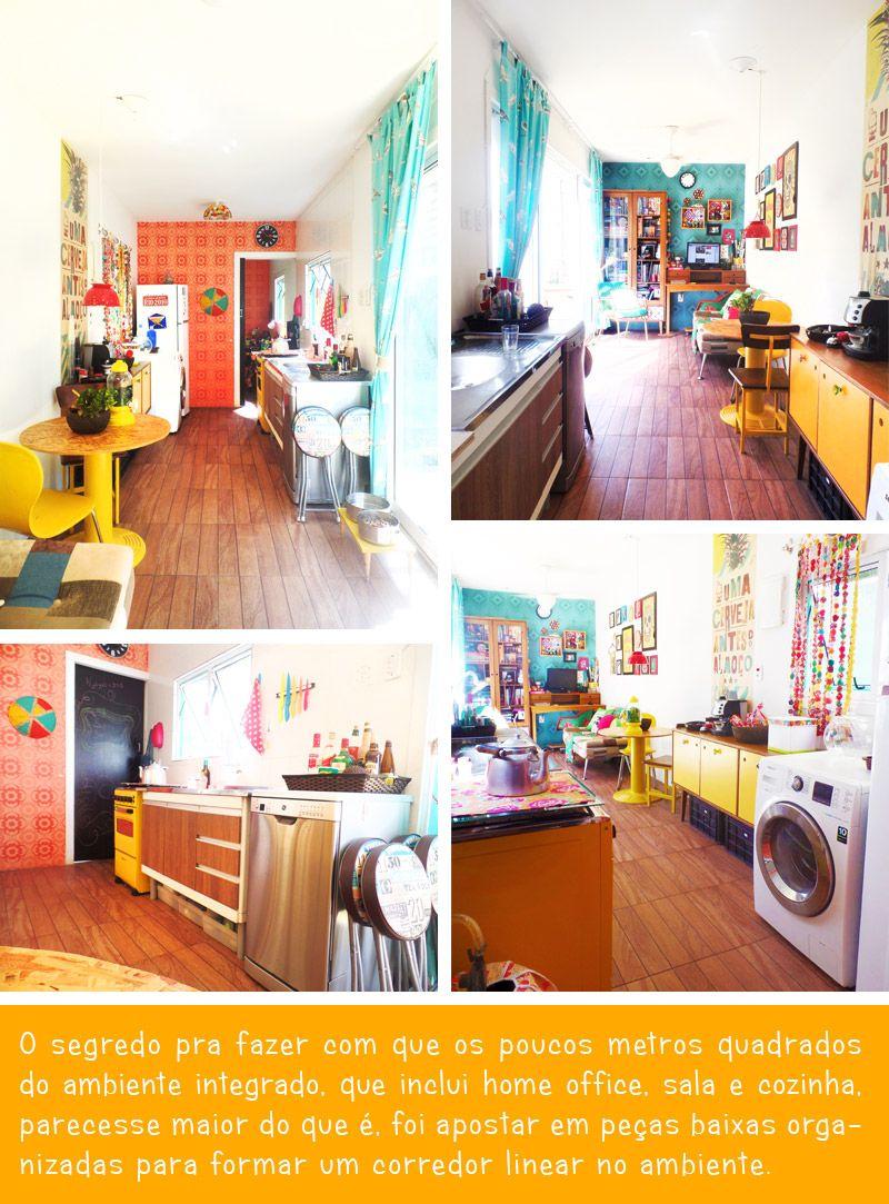 Minha Casa Meu Container Home Office Sala E Cozinha Tiny Houses  -> Minha Sala E Cozinha