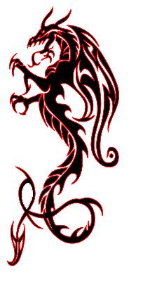 Dragon Tattoos Designs 2 Png 234 438 Tribal Dragon Tattoos Tribal Tattoos Dragon Tattoo