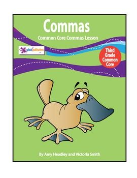 Commas Activities - 3rd Grade Grammar Practice Hands-On ...