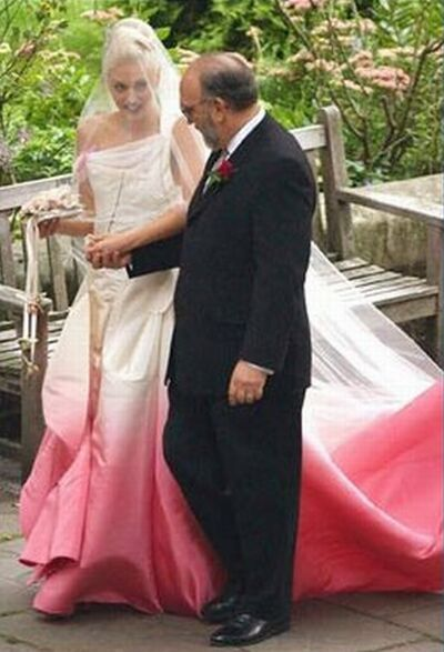 Image result for gwen stefani wedding dress