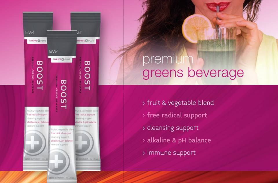 Thrive BOOST is the only Nutraceutical Beverage of its