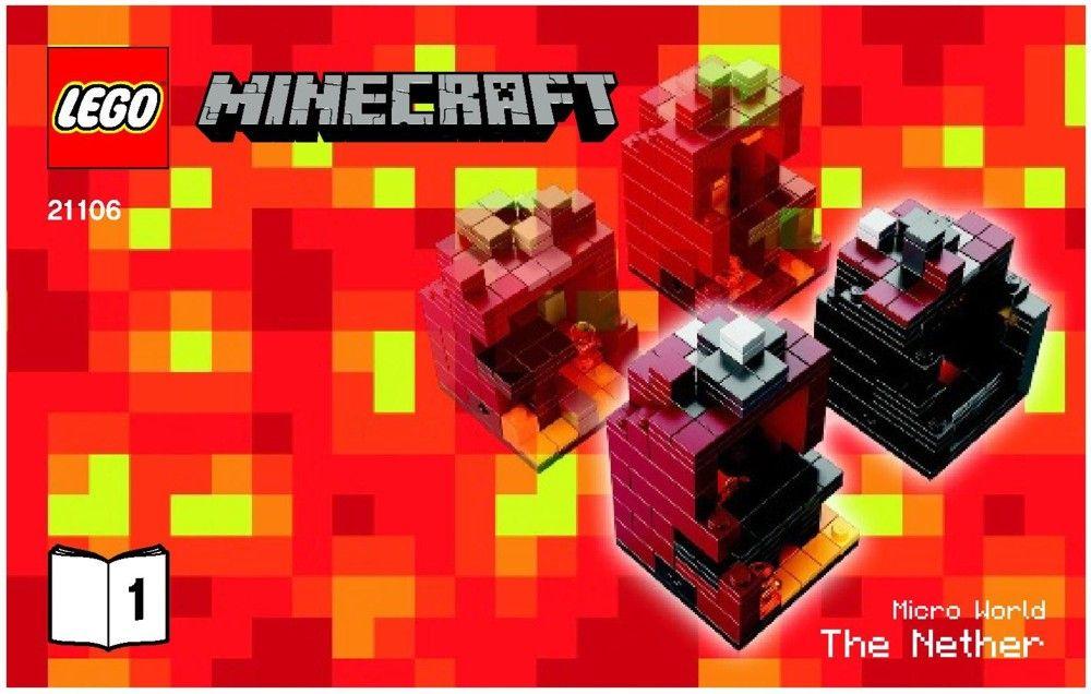Minecraft Minecraft Micro World The Nether Lego 21106 Lego