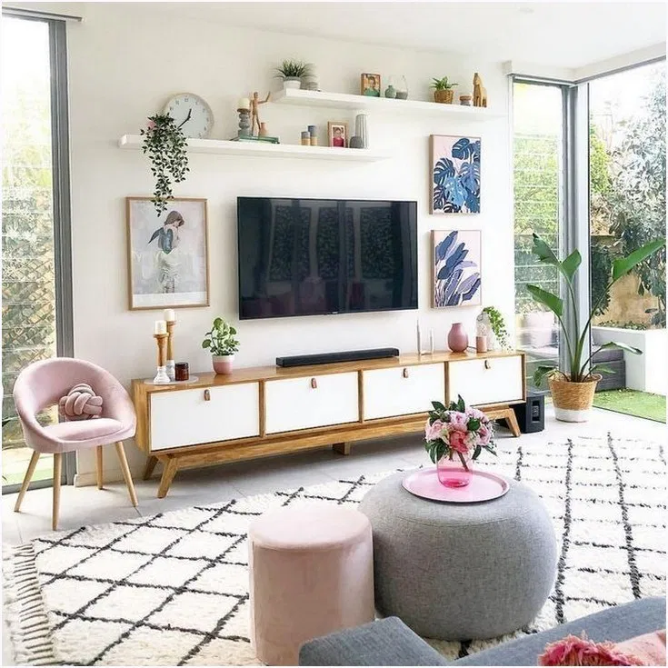 59 Best Tv Wall Living Room Ideas Decor On A Budget Living Room Decor Apartment Modern Apartment Decor Modern Living Room Wall