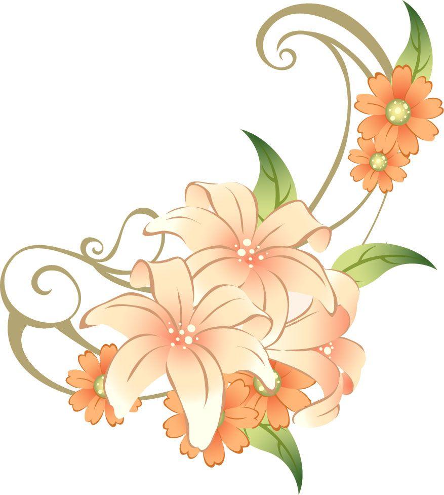 百合 ゆり の花の画像 イラスト フリー素材 No 171 赤 ピンク 花 イラスト ゆりの花 ミッフィー イラスト