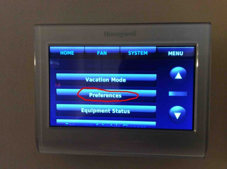 How To Clear Schedule On Honeywell Thermostat Tom S Tek Stop Honeywell Thermostats Thermostat Thermostat Cover