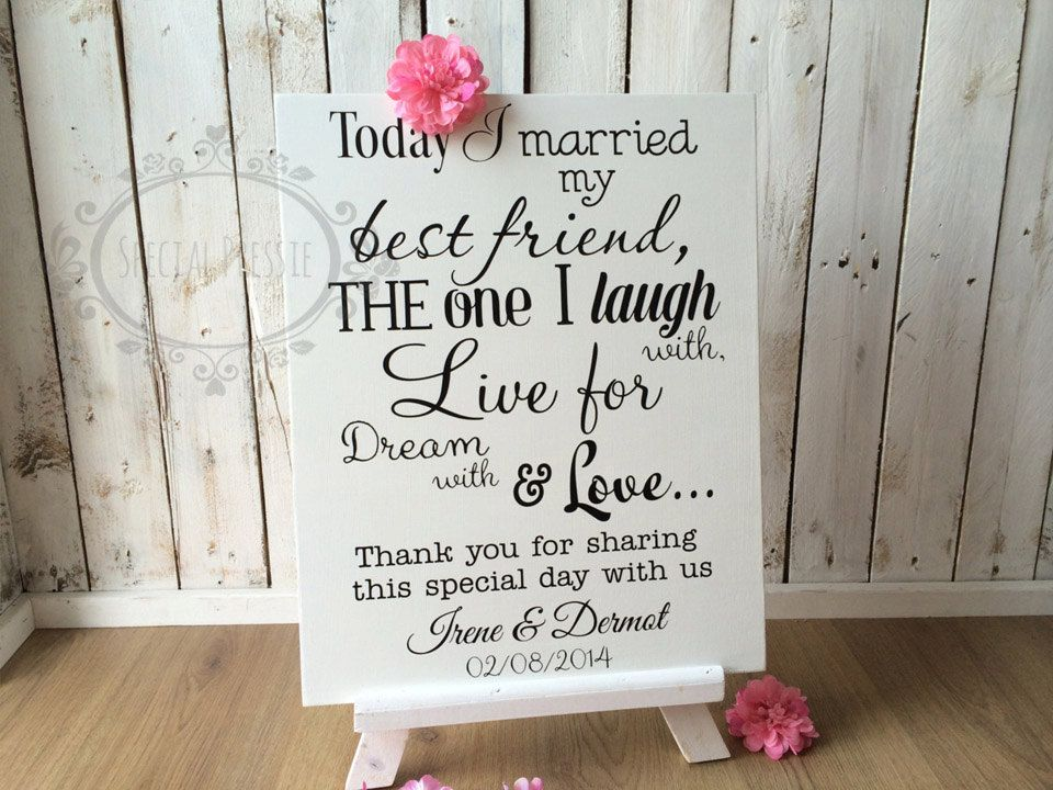 Wedding Signs Ireland Personalised Sign By Specialpressie