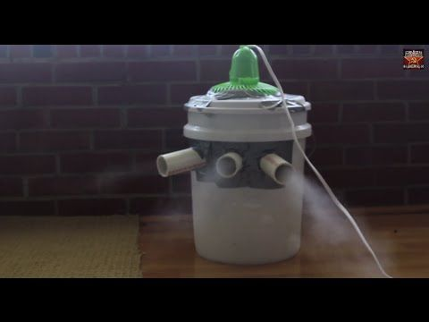 Homemade Air Conditioner Use Ice From Water For Better
